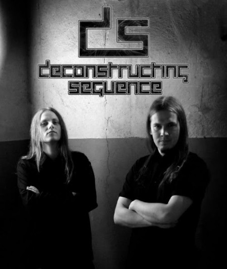Deconstructing Sequence - promo band pic - logo - 2014 - #9173