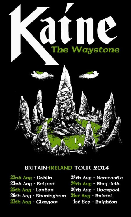 Kaine - Britain - Ireland Tour - promo flyer 2014