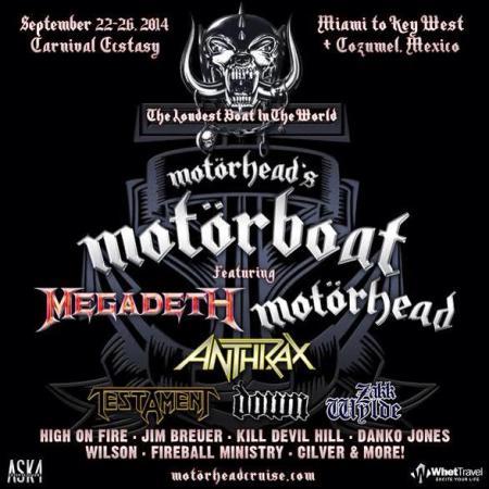 Motorhead Motorboat - promo flyer - 2014 - #10071