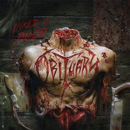 Obituary - Inked In Blood - promo album cover pic - 2014