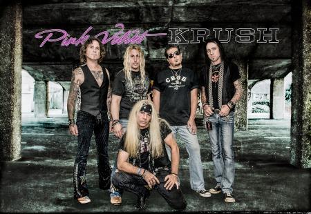 Pink Velvet Krush - promo band pic - band logo - 2014 - #7791