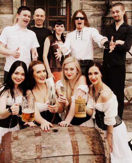 Protokult - Get Me A Beer - promo band pic - 2014