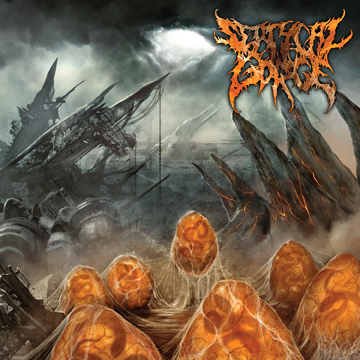 Septcal Gorge - Scourge of the Formeless Breed - promo cover pic - 2014