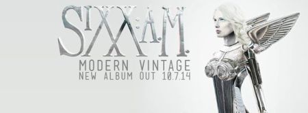 Sixx AM - Modern Vintage - promo cover banner pic