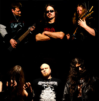 Throne Sacrifice - Imperium - promo band pic - 2014 - split - #0833