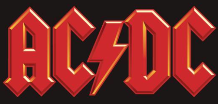 ACDC - Classic Band Logo - #10014
