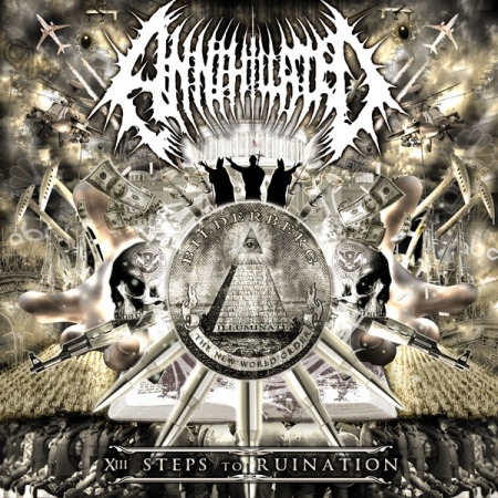 Annihilated - XIII Steps To Ruination - promo cover pic