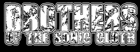 Brothers Of The Sonic Cloth - band logo - B&W - 2014 - #0011