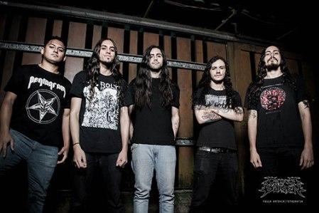 Corpse Garden - promo band pic - 2014 - #448