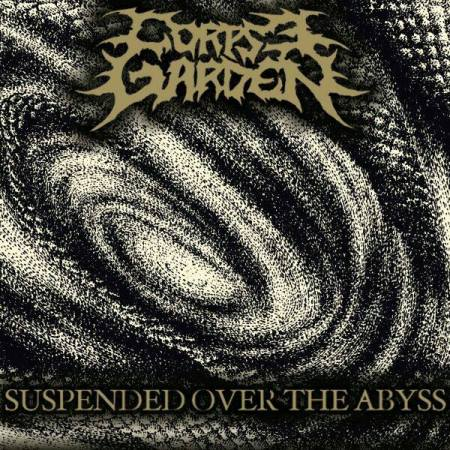 Corpse Garden - Suspended Over The Abyss - single cover art promo - 2014