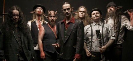 Finntroll - promo band pic - 2014 - #4590
