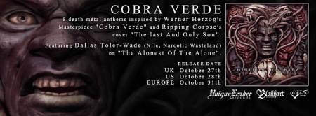 Hideous Divinity - Cobra Verde - promo album banner - 2014 - #9192