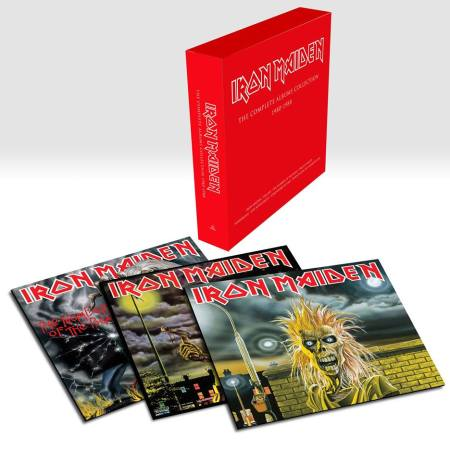 Iron Maiden - 1980's - Vinyl Albums Box Set - 2014 - #9240