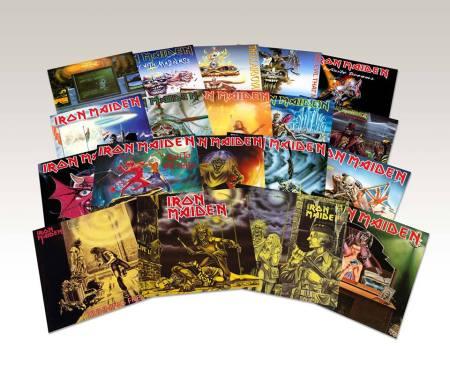 Iron Maiden - vinyl singles - 1980's - reissues - 2014