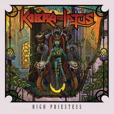 Kobra And The Lotus - High Priestess - promo cover pic - 2014
