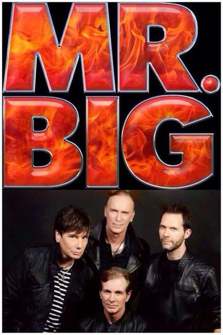 Mr. Big - promo band pic - band logo - 2014 - #9809