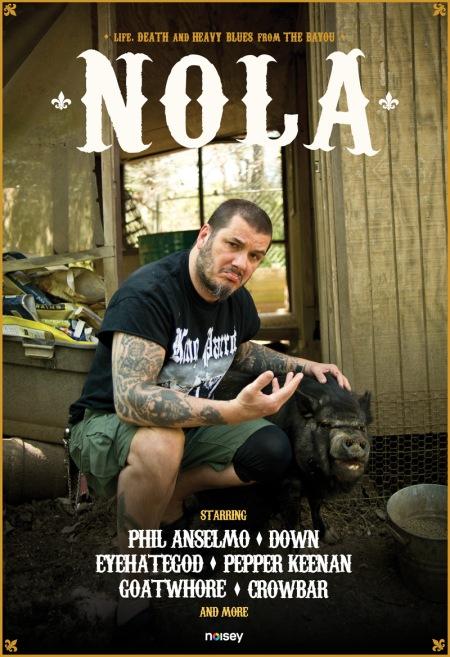 Nola - Phil Anselmo - promo flyer - 2014 - noisey