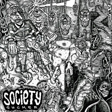 Society Sucker - EP - promo cover pic - 2014