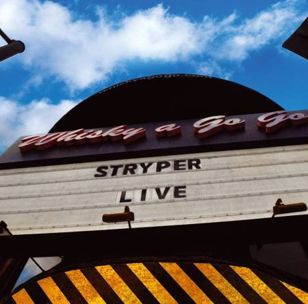 Stryper - Live - Whiskey A Go Go - promo cover pic