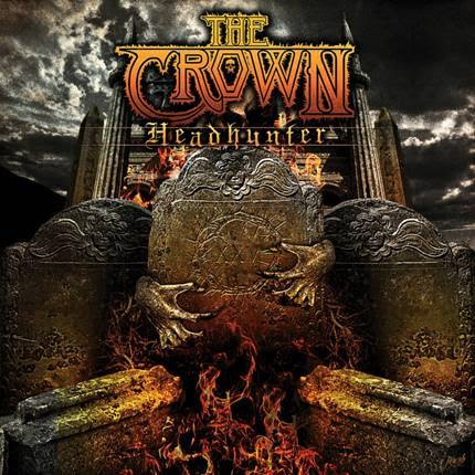 The Crown - Headhunter - EP - cover promo pic - 2014