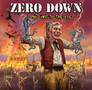 Zero Down - No Limit To The Evil - promo cover pic - 2014