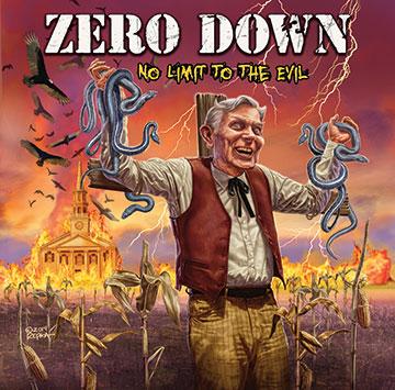 Zero Down - No Limit To The Evil - promo cover pic - 2014