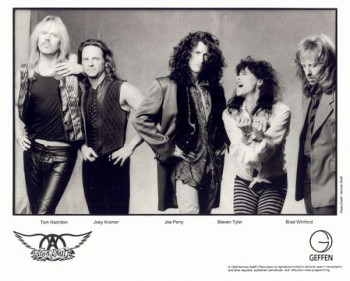 Aerosmith - band publicity card - #ST88