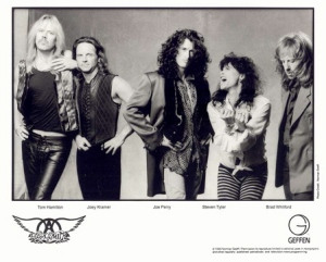 Aerosmith - band publicity card - #ST88