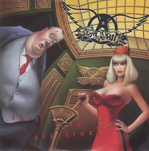 Aerosmith - Love In An Elevator - single cover sleeve promo - 1989 - #1ST
