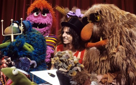 Alice Cooper - The Muppets - 1978 Episode - promo pic - #1978AC
