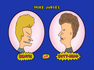 Beavis and Butt-Head - title card - promo - Mike Judge - #33
