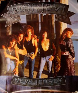 Bon Jovi - New Jersey - promo band pic - album flyer