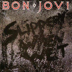Bon Jovi - Slippery When Wet - promo cover pic - #992BJ