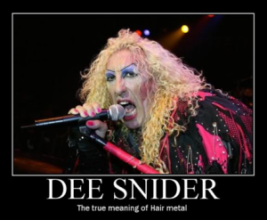 Dee Snider - The True Meaning Of Hair Metal - promo pic