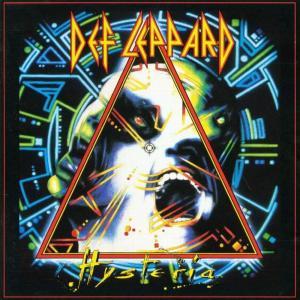 Def Leppard - Hysteria - promo album cover pic - #33BB