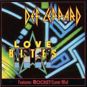 Def Leppard - Love Bites - CD promo cover pic