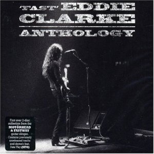 Fast Eddie Clarke - Anthology - promo album cover pic