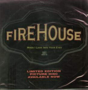 Firehouse - When I Look Into Your Eyes - single promo cover pic - 1992