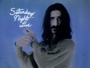 Frank Zappa - Saturday Night Live - 1978 - promo pic