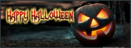 Halloween Banner - scary pumpkin - promo - #201431H