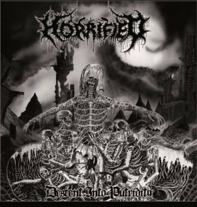 Horrified - Descent Into Putridity - promo cover pic