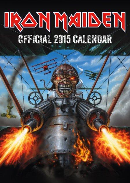 Iron Maiden - 2015 Calendar - promo cover pic - #7737