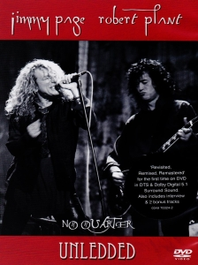 Jimmy Page - Robert Plant - Unledded - promo dvd cover pic