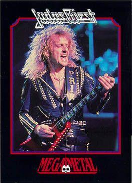 K.K. Downing - Judas Priest - MegaMetal trading card - promo pic - #44KKD