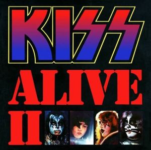 Kiss - Alive II - promo album cover pic - #11977