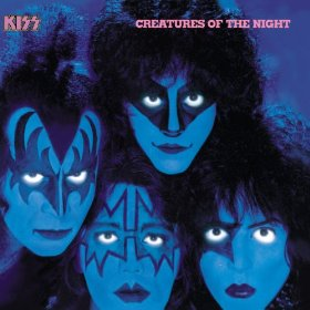 KIss - Creatures Of The Night - promo album cover pic - #7740