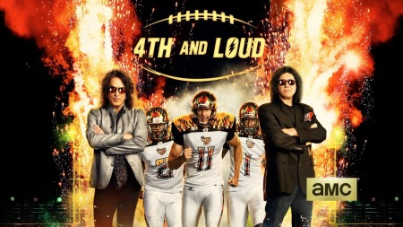 Kiss - la Kiss - 4th and loud - amc - promo banner - 2014
