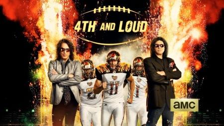 Kiss - la Kiss - 4th and loud - amc - promo banner - 2014