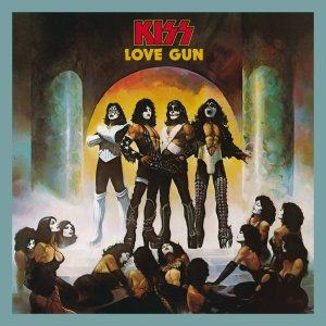KISS - Love Gun - Deluxe - promo cover pic - 2014 - #100GS