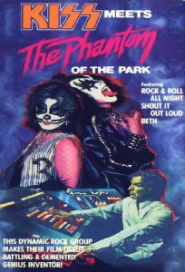 KISS meets the phantom of the park - promo movie flyer pic - 1978 - #33PC